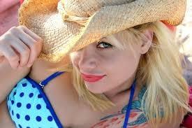 cute lady wearing hat